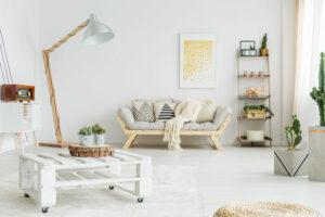 Un exemple de meubles issus de l'upcycling