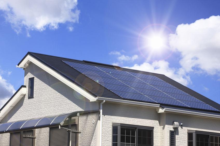 panneaux solaires maison ecoenergetique
